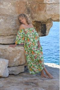 Robe ananas by Chantal B