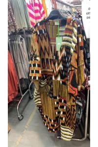 Manteau ethnique
