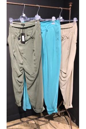 Pantalon Chantal B Bleu turquoise