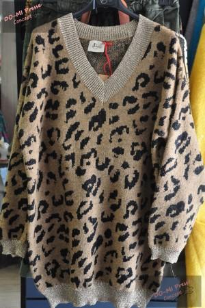 Pull ample léopard - Johanna Paris