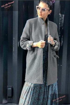 Manteau VERA gris  - Banditas