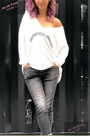T-shirt Propiété privé - Banditas