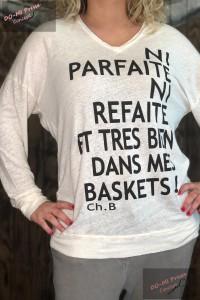 T-Shirt Ni Parfaite Lin Chantal B