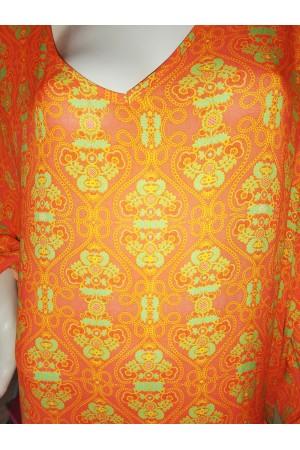 Robe imprimée Chantal B