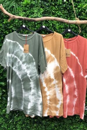 Robe tee-shirt Tie And Dye