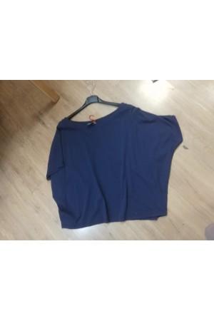 Tee-shirt bleu marine Johanna