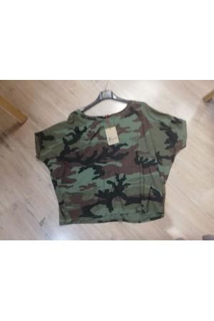 Tee-shirt camouflage Johanna