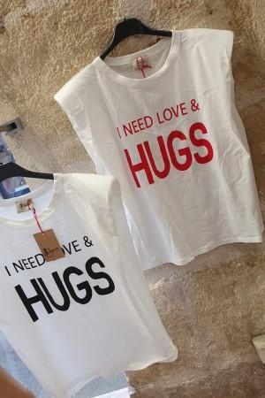 Tee-shirt  HUGS