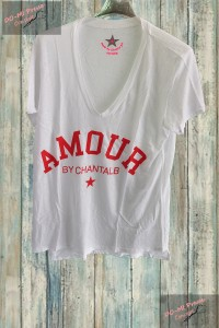 T-shirt Amour by Chantal B